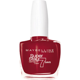 Maybelline Superstay Nail Gel Color 006-deep Red Mujer