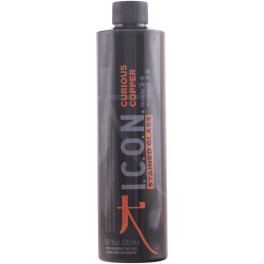I.c.o.n. Stained Glass Curious Copper Semi-permanent Levels 3-8 300ml Unisex