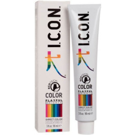 I.c.o.n. Playful Brights Direct Color Acid Green 90 Ml Unisex