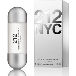 Carolina Herrera 212 Nyc For Her Eau de Toilette Vaporizador 30 Ml Mujer