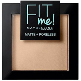 Maybelline Fit Me Matte+poreless Powder 120-classic Ivory Mujer