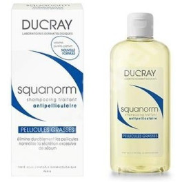 Ducray Squanorm Anti-dandruff Treatment Shampoo Oily Hair 200 Ml Unisex