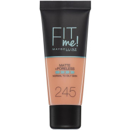 Maybelline Fit Me Matte+poreless Foundation 245-classic Beige Mujer