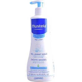 Mustela Bébé Gentle Cleansing Gel Hair And Body 500 Ml Unisex