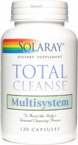 Solaray Total Cleanse Multisystem 120 Caps