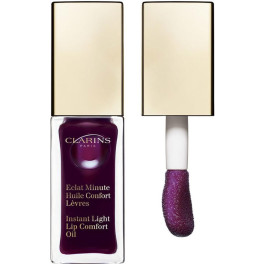 Clarins Eclat Minute Huile Confort Lèvres 08-blackberry 7 Ml Mujer