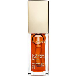 Clarins Eclat Minute Huile Confort Lèvres 05-tangerine 7 Ml Mujer