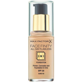 Max Factor Facefinity All Day Flawless 3 In 1 Foundation 80-bronze Mujer