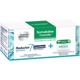 Somatoline Gel Reductor Ultra Intensivo 7 Noches Lote 2 Piezas Mujer