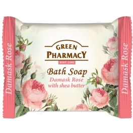 Green Pharmacy Bath Soap Damask Rose With Shea Butter 100gr