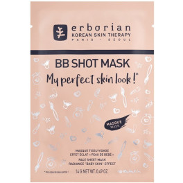 Erborian Bb Shot Mask Face Sheet Mask Radiance Baby Skin Effect