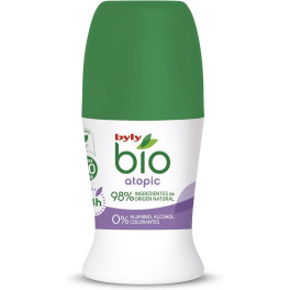 Byly Bio Natural 0% Atopic Deodorant Roll-on 50 Ml Unisex