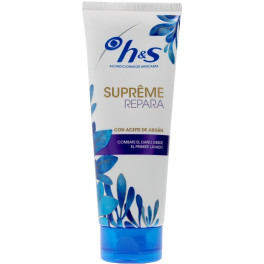 Head & Shoulders H&s Supreme Acondicionador Reparador 220 Ml Unisex