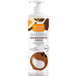 Natural Honey Coco Loción Corporal Dosificador 700 Ml Unisex
