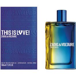 Zadig & Voltaire Zadig&voltaire This Is Love Him Edt 100ml Spray