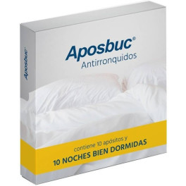 Sanitec Aposbuc Antirronquidos Pack 10 Apositos