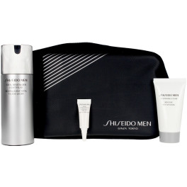 Shiseido Men Total Revitalizer Light Fluid Lote 3 Piezas Unisex