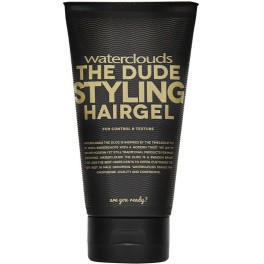 Waterclouds The Dude Styling Hairgel For Control&texture 150 Ml Unisex