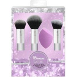 Real Techniques Sparkle On-the-go Lote 4 Piezas Mujer