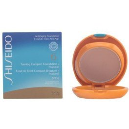 Shiseido Tanning Compact Foundation Spf6 Natural 12 Gr Mujer