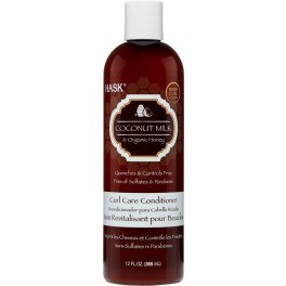 Hask Coconut Milk & Honey Curl Care Conditioner 355 Ml Unisex