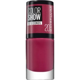 Maybelline Color Show Nail 60 Seconds 20-blush Berry Mujer