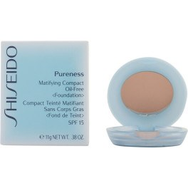Shiseido Pureness Matifying Compact 20-light Beige 11 Gr Mujer