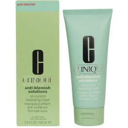 Clinique Anti-blemish Solutions Oil Control Cleansing Mask 100 Ml Mujer