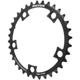 Rotor Chainring C 38t - Bcd110x5 - Inner - Negro