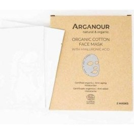 Arganour Organic Cotton Face Mask With Hylaruronic Acid Mujer