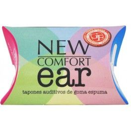 Physiorelax New Comfort Ear Tapones Auditivos Gomaespuma