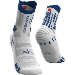 Compressport Calcetines Pro Racing Socks V3.0 Trail Blanco/lolite