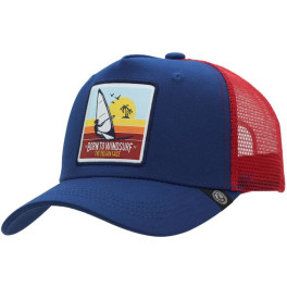 The Indian Face Born To Windsurf Blue And Red Gorra