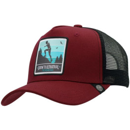The Indian Face Born To Ultratrail Red / Black Gorra