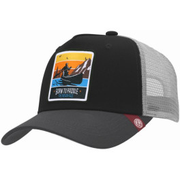 The Indian Face Born To Paddle Black / Grey Gorra