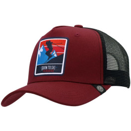 The Indian Face Born To Ski Red / Black Gorra