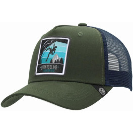 The Indian Face Born To Climb Green / Blue Gorra