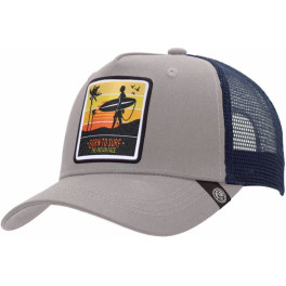 The Indian Face Born To Surf Grey / Blue Gorra
