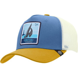 The Indian Face Born To Sail Blue / Yellow / White Gorra