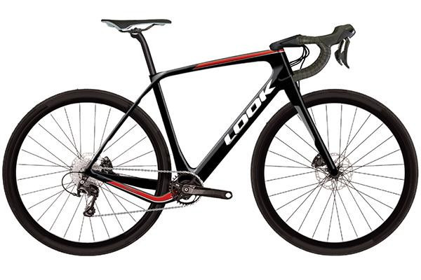 Look Bicicleta 765 Gravel Rs Disc Negro-Rojo 105 2x (m)